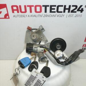 Sada klíčů a zámků CITROEN BERLINGO II 4162CF 3 klíče