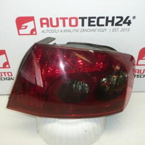Pravá zadní lampa PEUGEOT 407 sedan 6351GC
