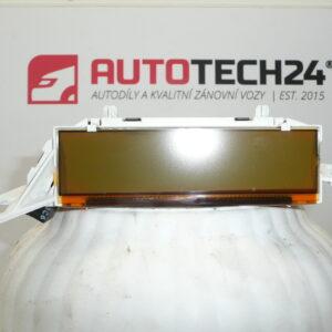 Palubní display otáčkoměr CITROEN C4 9662226080