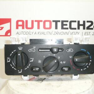 Ovladač topení klimatizace CITROEN C2 C3 6451KR