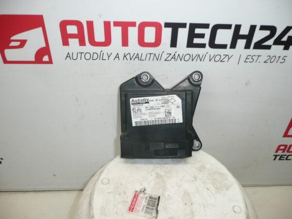 Jednotka airbagů CITROEN PEUGEOT 620595200 9804375980 9805630180