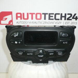 Ovladač topení  klimatizace PEUGEOT 307 96527144XT 6451ZQ