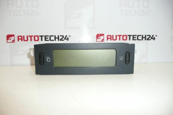 Display CITROEN C5 I 9650243177 F00 6155V3