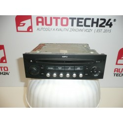 Autorádio s CD  MP3 CITROEN PEUGEOT 96643698XT00
